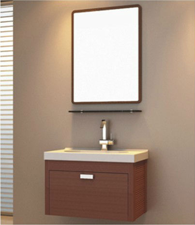 Online buy wholesale washbasin cabinet design from china for Waterproof bathroom cabinets