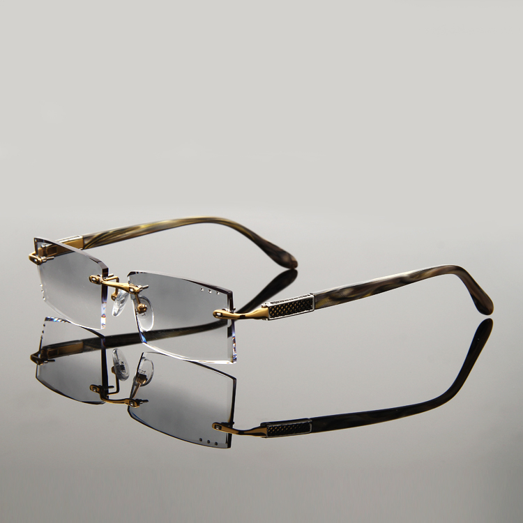Rimless Glasses Mbh5