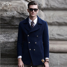 100 Wool Mens Pea Coat | Down Coat