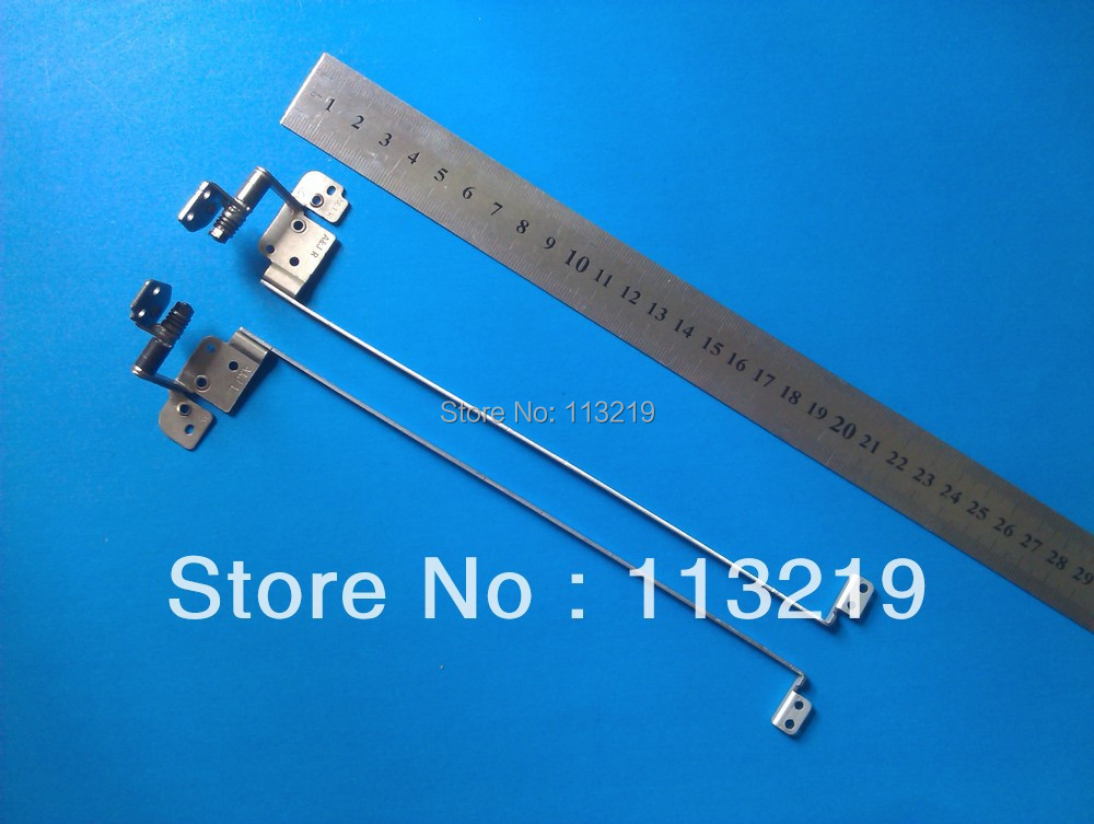Genuine wholesale Price For Dell 1014 1088 Notebook Lcd Screen Hinges Kit 100% New (10 pairs/Lot)(China (Mainland))