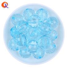 Giá Rẻ Sỉ Chọn Màu Sắc 20 Mm 100 Cái/lốc Đầy Màu Sắc Trong Suốt Acrylic Disco Hạt Cho Bubblegum Vòng Cổ Trang Sức Tiếp Liệu(China)