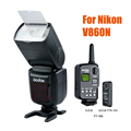Godox V860N Li ion Battery Flash With FT 16S Power Control Wireless Trigger For NIKON d90