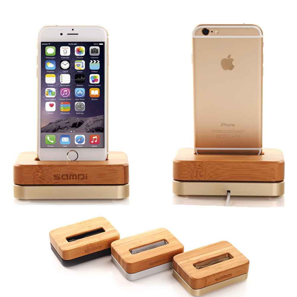 2016 new wooden birch vertical desktop dock for apple iphone 6 iphone6s iphone se charger. Black Bedroom Furniture Sets. Home Design Ideas