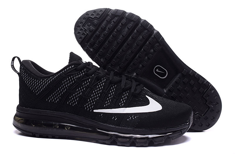nike air max flyknit 2016 black