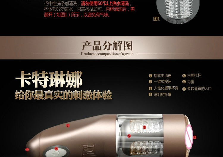 AILIGHTER Telescopic Rotation Male Masturbator For Man Sex Machine Masturbation Cup Adult Sex Toys For Men Electronic Toy Vagina