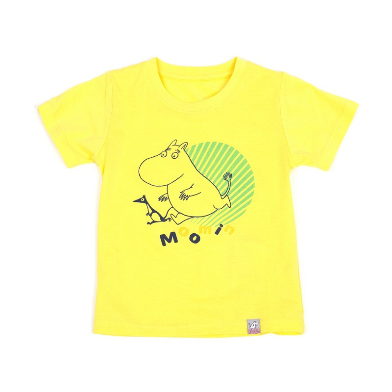 2015 New Moomin children t shirts short sleeve O-Neck 100% cotton character boys and girls  summer wear  free shipping<br><br>Aliexpress