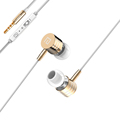 Daono X3 Metal Bass Earphones In Ear Headphones with Mic 3 5mm Earbuds Stereo Noise Cancelling
