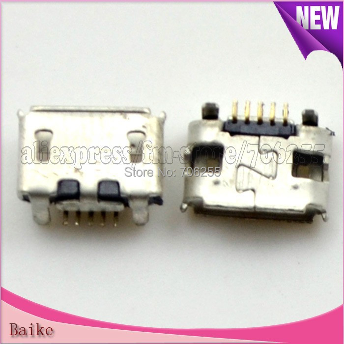 200pcs/lot Usb Charger Charging Connector Plug Dock Port For BB blackberry curve 8520 9780 9700 Free shipping(China (Mainland))