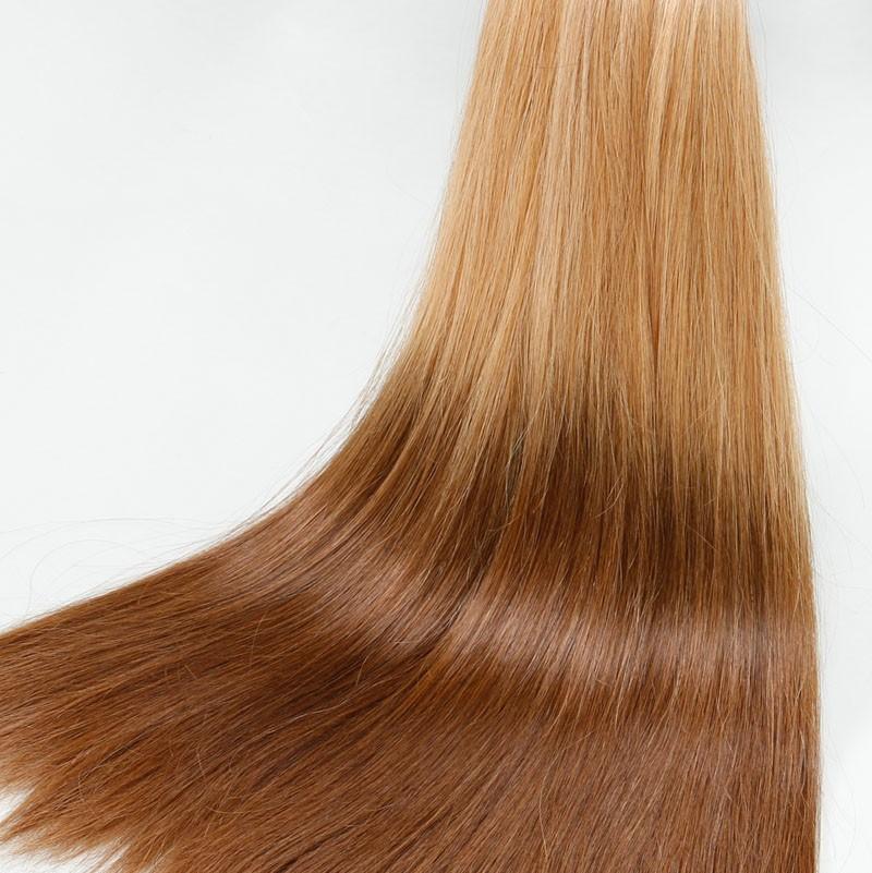 Sleek 10A Straight Bulk Hair Ombre Girls Human Hair Colorful Hair For White Women Brazilian Virgin Hair 2pcs/lot Free Shipping