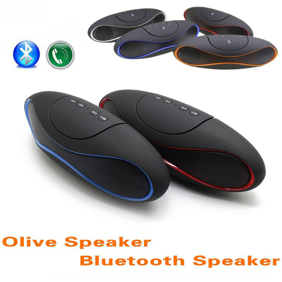 QFX Wireless Bluetooth Speaker TF AUX USB FM Radio Built-in Mic Hands-free Portable Mp3 Mini Subwoofer Retail Box