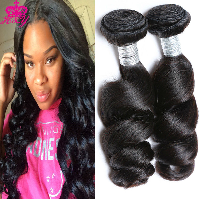 Unprocesssed péruvienne lâche vague cheveux tissage 3 pcs/lote 6A pas cher Virgin péruvienne Extension de cheveux 100% cheveux humains Weave Bundle(China (Mainland))