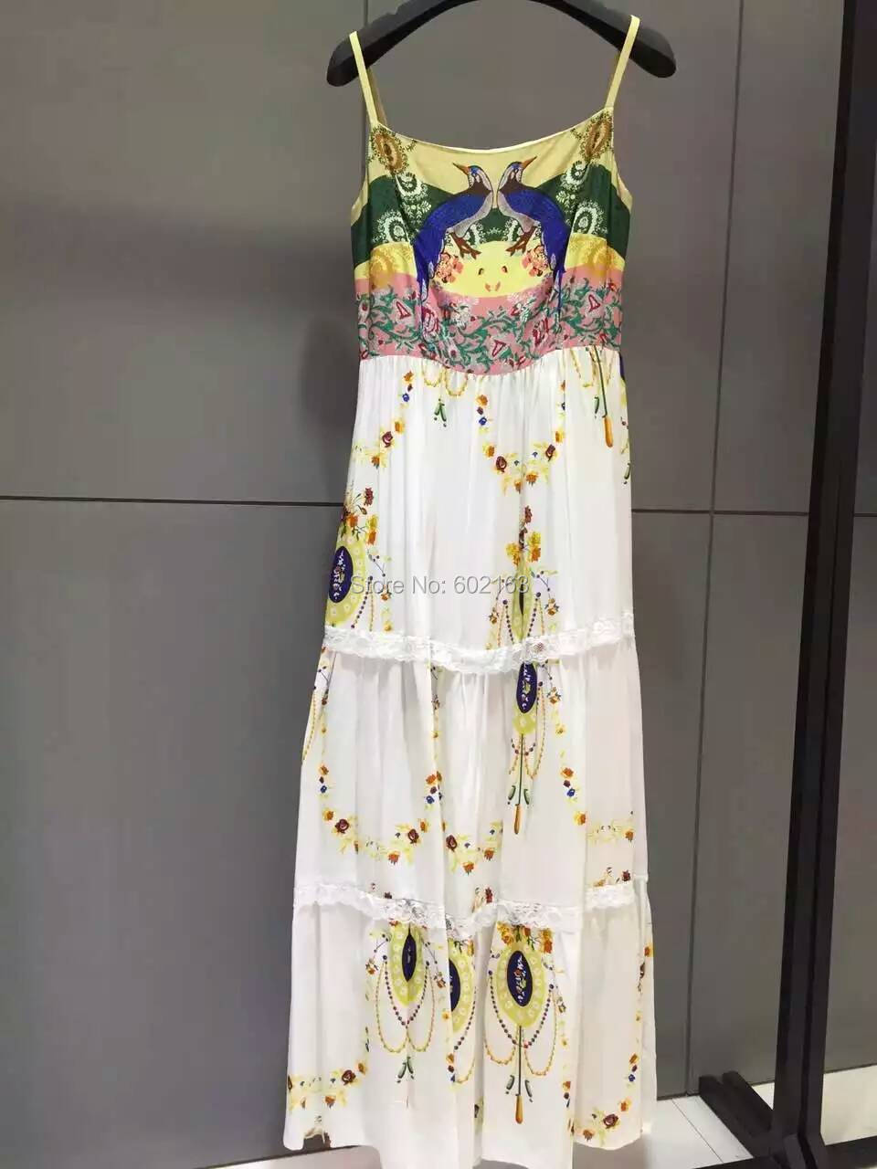 Luxury Brand 2016 Summer Dress Womens Sleeveless Maxi Dress Boho Style Dresses Women Одежда и ак�е��уары<br><br><br>Aliexpress
