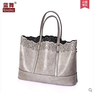 Blue womens bags 2014 womens handbag fashion shoulder bag autumn and winter leather bag picture package cutout bag<br><br>Aliexpress
