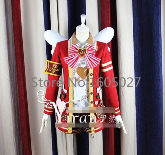Anime Love Live! All Member Valentines Day Chocolate Honoka Kotori Umi Eli Nozomi Maki Rin Hanayo Nico Dress Cosplay CostumeОдежда и ак�е��уары<br><br><br>Aliexpress