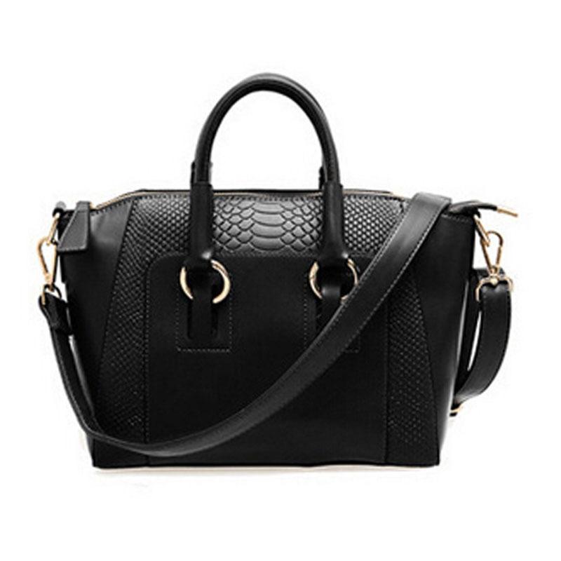 Hot sale! 2015 New Fashion women handbag brief crocodile pattern shoulder bags women messenger bags women leather handbags bag(China (Mainland))