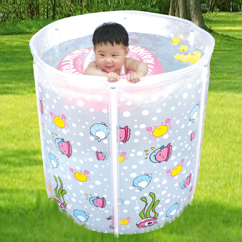 high quality kids pool round frame swimming pools children support baby bathtub toddler bath tub. Black Bedroom Furniture Sets. Home Design Ideas