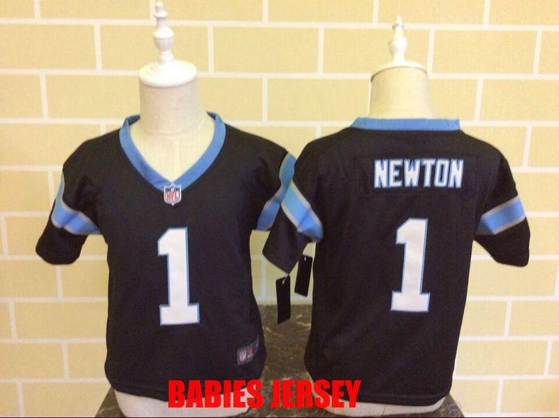 100% Stitiched Carolina Panther Cam Newton Luke Kuechly For BABIES BABY 2-7 YEARS OLD,camouflage(China (Mainland))