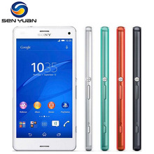 Original Unlocked Sony Xperia Z3 Compact D5803 Mobile Phone Quad core 2GB RAM 16GB ROM 3G&4G WIFI GPS Z3 mini cell phone(China (Mainland))
