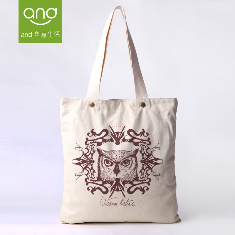 Canvas Cotton Classic Shoulder Portable Bolsas Femininas Tote Shopping Casual Bags 15 Printed Everyday Fashion Women's Handbags(China (Mainland))