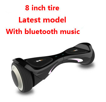 Samsung battery+bluetooth music 8 inch Tire electric scooter io hawk style self balancing board scooter two wheel scooter(China (Mainland))