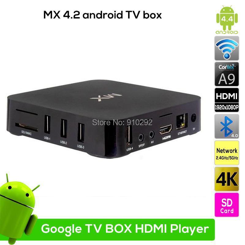 Dual Core MX 2 Android 4.2 Smart TV Box Media Player XBMC WIFI 8GB 1080P EU/US/AU/UK Option power Plug<br><br>Aliexpress