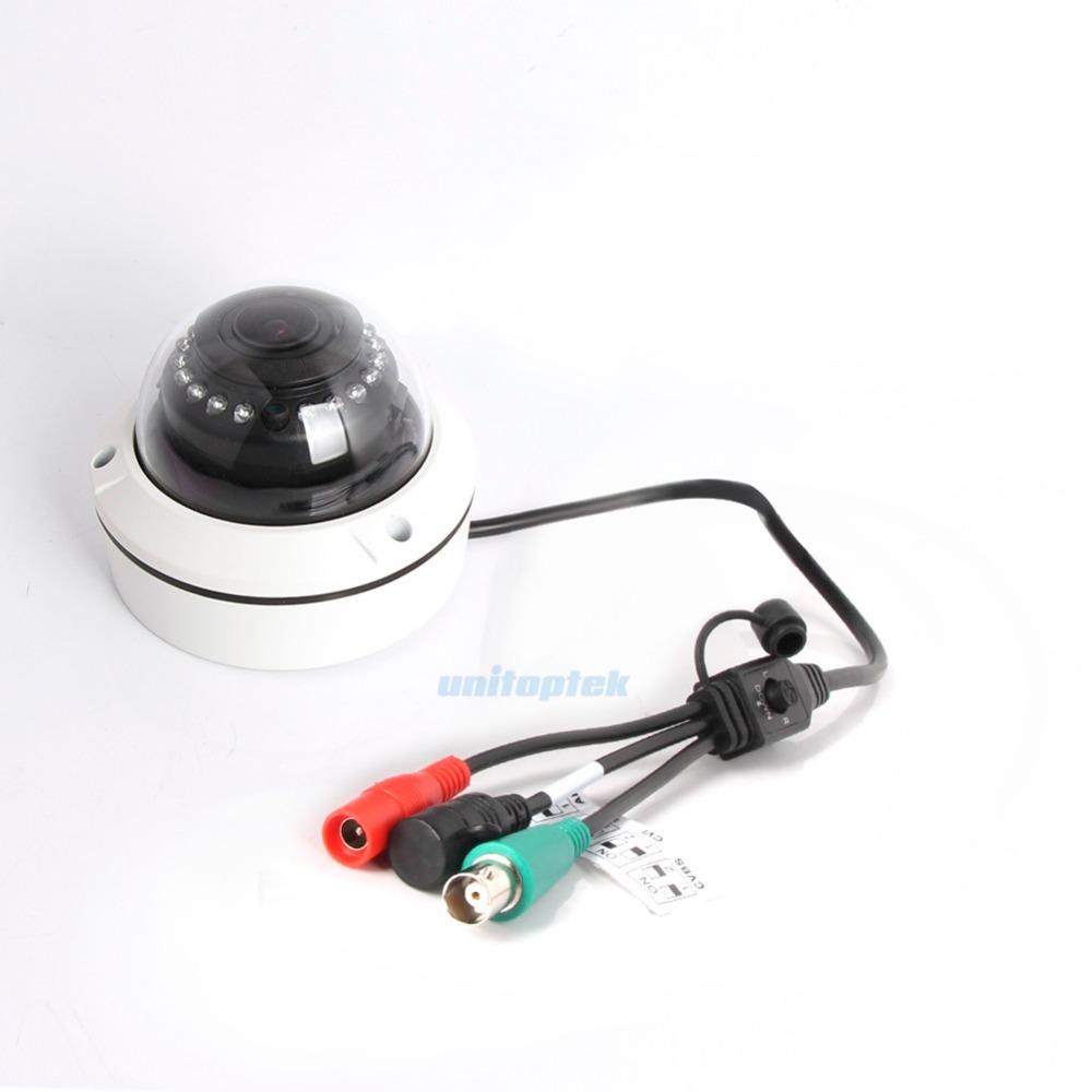 2MP AHD Camera 1080P Motorized Lens 4x Zoom 4 IN 1 AHD/CVI/TVI/CVBS Dome Camera Security CCTV Camera,With Dial Switch OSD Menu