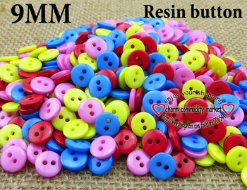 200PCS 9MM resin shirt buttons buttons for garments kids sewing crafts cloth accessory R-044