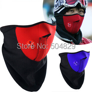1pcs free shipping Neck Guard ski masks Face windproof Ride Bike Cycling & Motor Breathing Mask(China (Mainland))