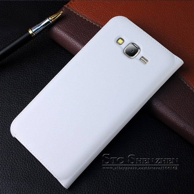 Luxury Leather Flip Case For Samsung Galaxy J7 J700h Smart  Cover phone coque