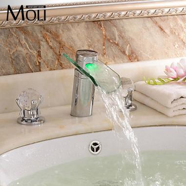 Aliexpress.com : acquista led cascata di vetro rubinetto acqua di ...