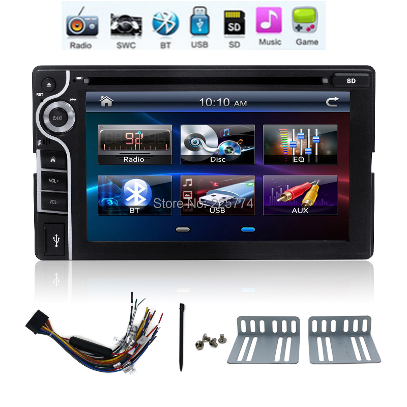 Автомобильный DVD плеер Kai chuang Windows HD 2DIN DVD Bluetooth