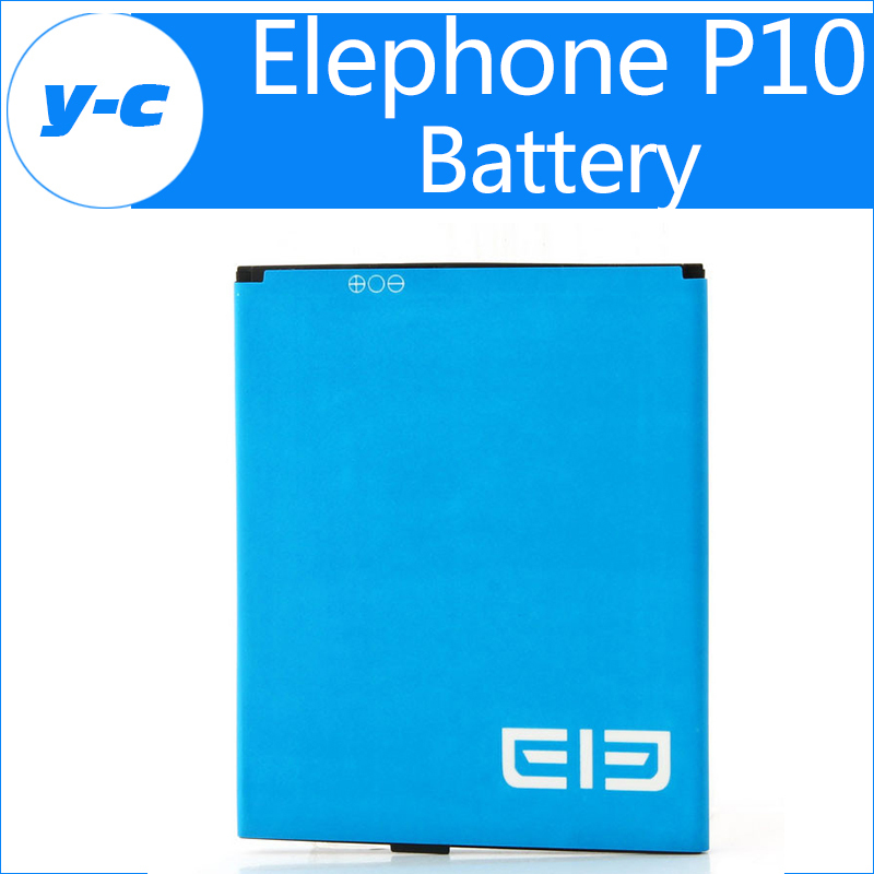 Elephone p10 battery 100% Original 1950Mah Battery Elephone P10c Battery Repalcement + Free Shipping + Tracking Number-In Stock