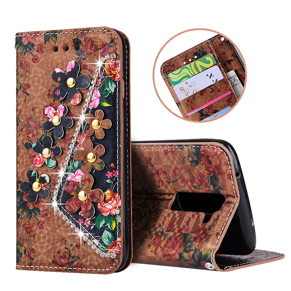 For LG K8 G3 G4 G5 K7 V10 LS770 LS775 Case Luxury Diamond Filp Cover For LG K350/D855/H810/X210/H868 Leather Silicon Stand Cases(China (Mainland))