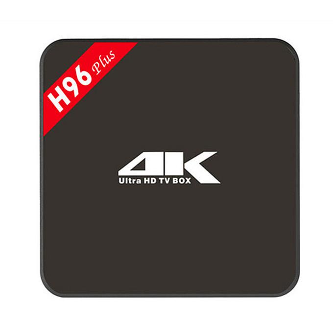 Android TV Box H96 Plus Amlogic S905 Quad Core 16G Dual WiFi 4K UHD 3D Media Player 1000M LAN IPTV Box HDMI Android 5.1 TV Box(China (Mainland))