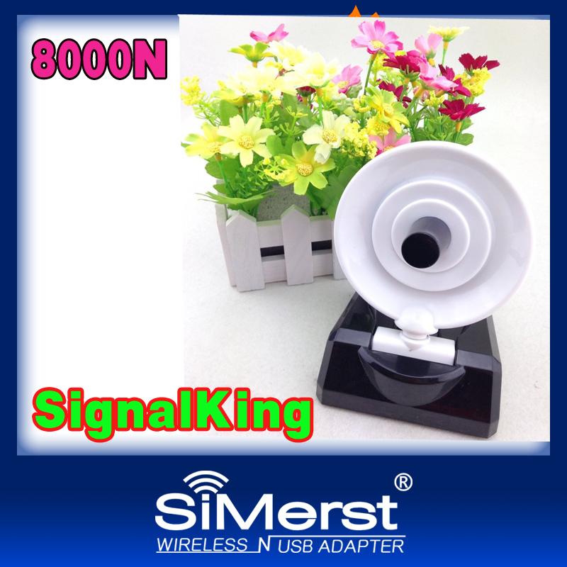 Signalking Ralink3070 11N 8000N WiFi adapter lan card Clipper B/G/N USB adapter long range and high sensitvity 1500MW BT5 36DBI <br><br>Aliexpress