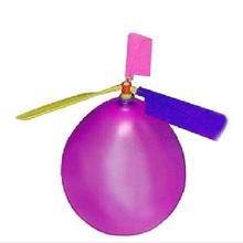 Spedizione gratuita tradizionale classic balloon aereo elicottero per i bambini bambino sacchetto del partito di riempimento volare giocattolo all'aperto colore casuale(China (Mainland))