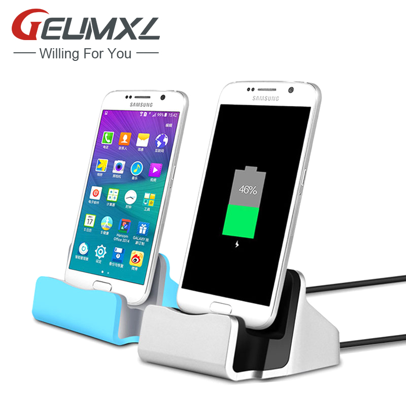 Universal 2 in 1 Micro USB Sync Desktop Charging Dock Stand Station Charger For Samsung Galaxy S2 S3 S4 S5 Note 2 3 Meizu Mx4(China (Mainland))