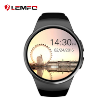 2016 Newest LEMFO Bluetooth smart watch full screen Smartwatch Phone Support SIM TF Card Heart Rate Monitoring for apple android