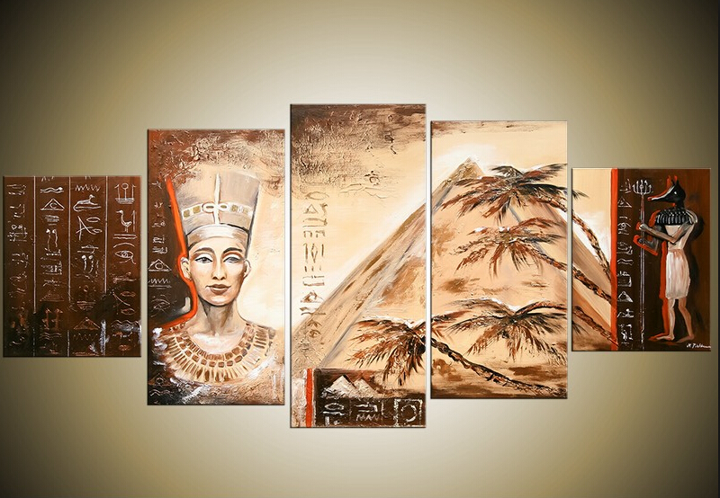 Buy 5 piece wall decor picture africa for 5 piece mural