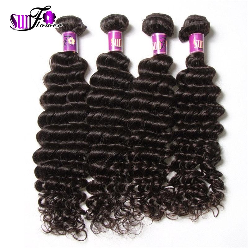 7a Mlalaysian Deep Wave 4 Bundles Good Cheap Hair Weave Online Virgin Malaysian Hair Deep Wave Wavy Top Human hair Extensions<br><br>Aliexpress