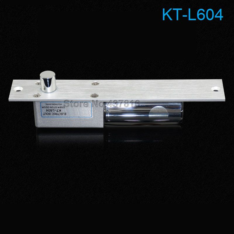 12V Fail Safe Electric Bolt Lock Two Core Terminal Metal Lock Body Prevent Broken Magnetic to Unlock(China (Mainland))