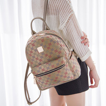 2016 Hot Sale Backpack Mochilas Women Letter Bag Korean Vintage Canvas Backpack Backpacks Fashion Mochilas Feminina School Bags(China (Mainland))