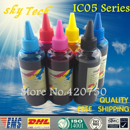 Dye refill ink Suit for Epson ICBK05 - ICLM05 (IC05 Series) cartridges ,suit for Epson  PM-3300C PM-3500C PM-3700C PM-720C etc<br><br>Aliexpress