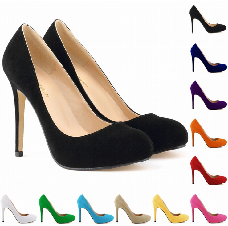 Pump Size 11 Colors Big Size Women Pumps