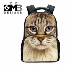 Buy Large Animal Backpacks Teen Girls Dog Cat 3D Printed School Bags Boys Middle School Back Pack Large Capacity Bookbags for $29.99 in AliExpress store