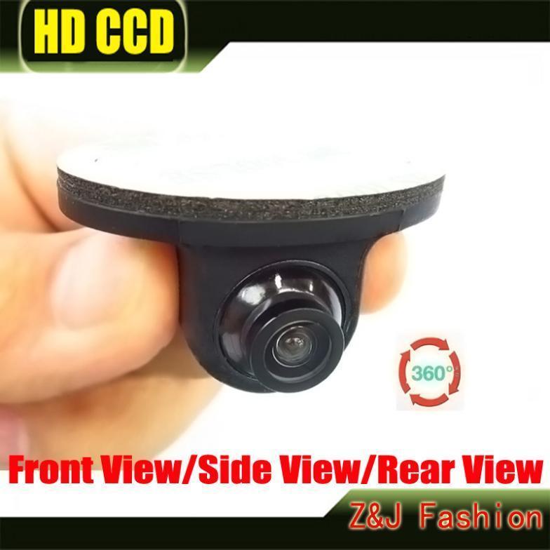 Hot Selling Mini CCD HD Night Vision 360 Degree Car Rear View Camera Front Camera Front View Side Reversing Backup Camera(China (Mainland))
