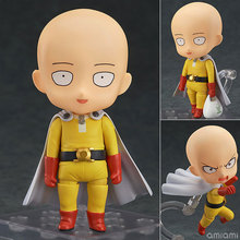 Nendoroid Saitama GSC Cute Anime Cartoon Figure One Punch Man PVC Action Figure Toy Car Accessories For Boys Girls