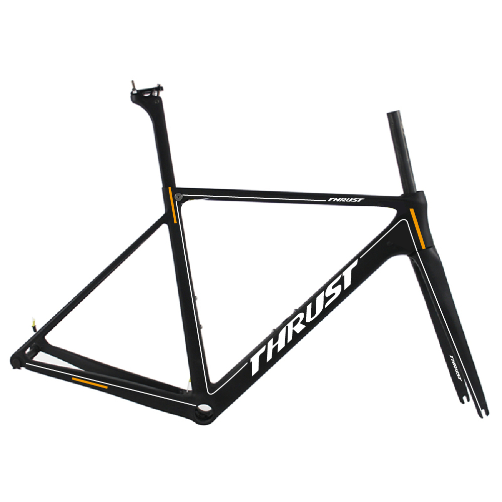 taiwan carbon fiber frame carbon road bike frame bicycle frameset painted logo road bike t1000 carbon
