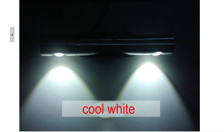 Indoor Lighting 6W High Power LED Wall Lamp Pure white / Warm White mirror front lamps ZZ13<br><br>Aliexpress