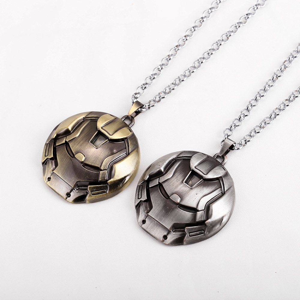 new pendant iron man ironman necklace marvel avengers